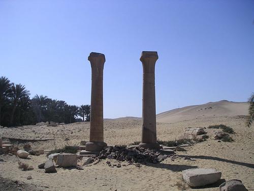Всё, что осталось от храма Униса
